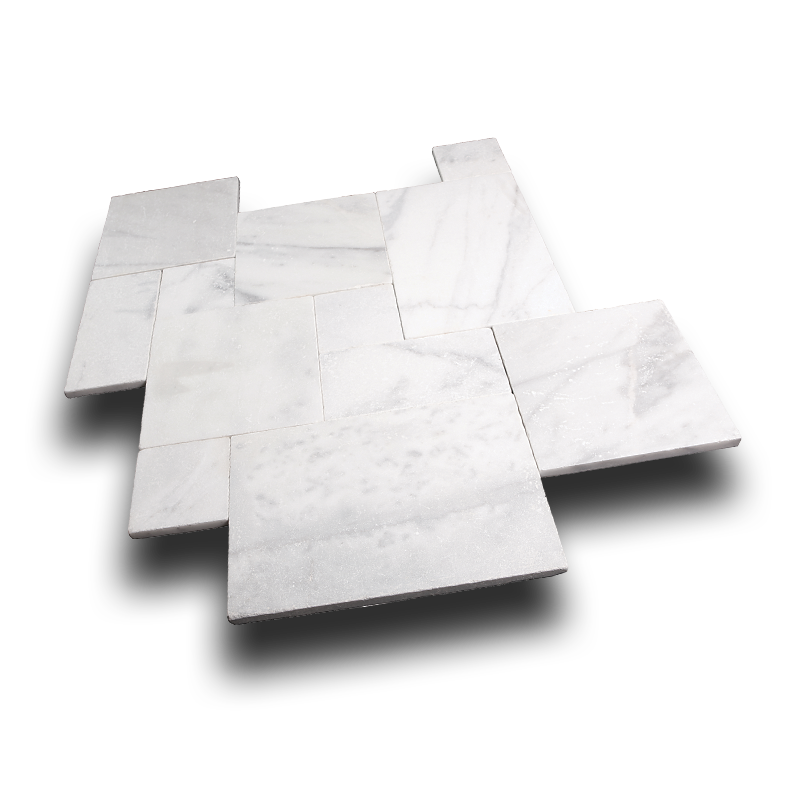 Moscow White Marble Pavers