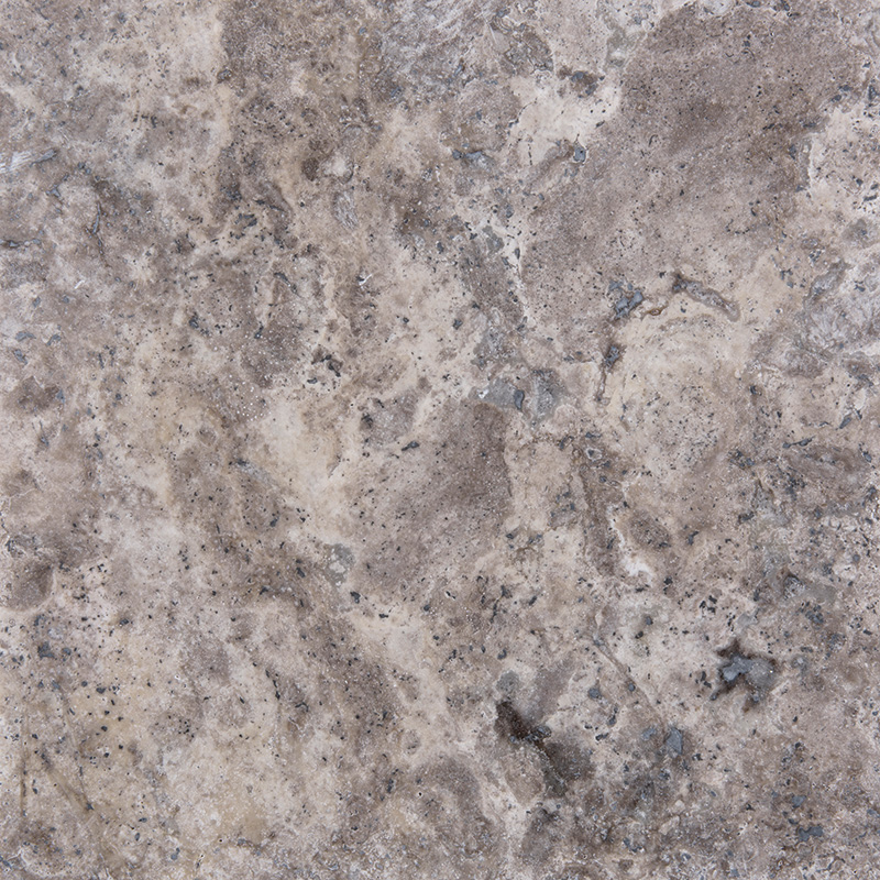 Silver Cross Cut Travertine Tiles