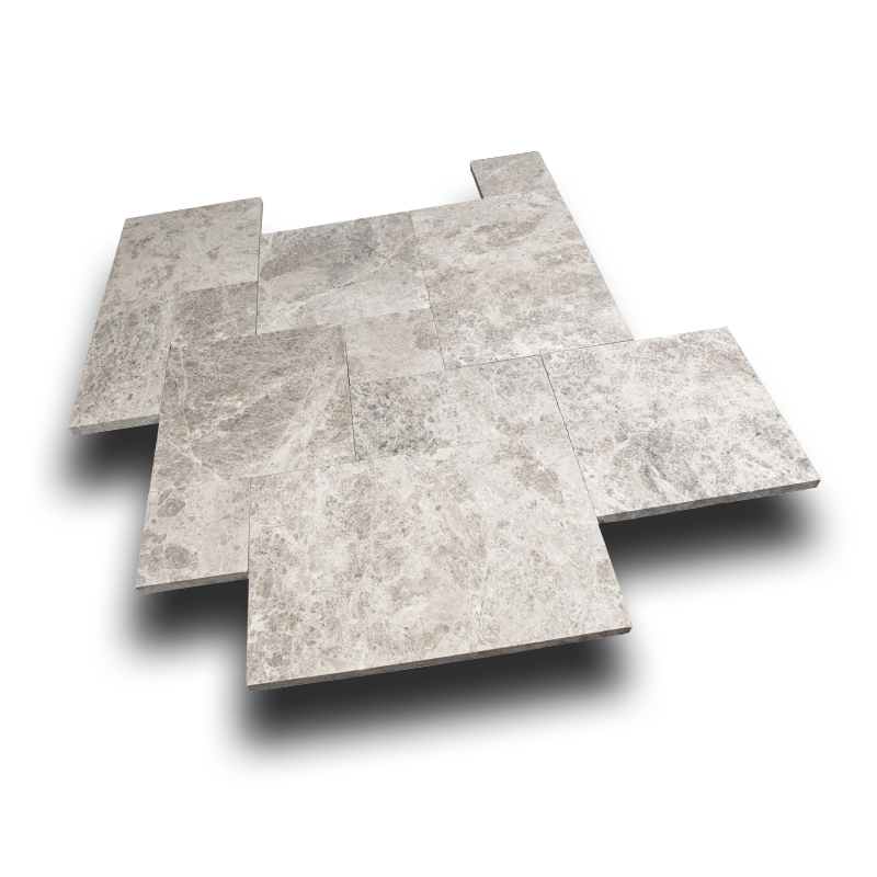 Silver Shadow Marble Pavers