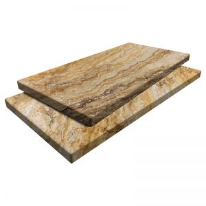Autumn Blend Travertine Pavers 12x24