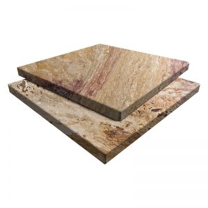 Autumn Blend Travertine Pavers 16x16