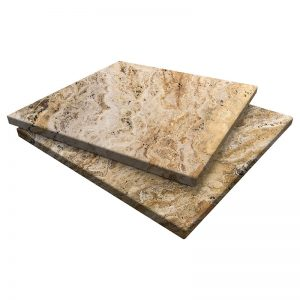 Autumn Blend Travertine Pavers 24x24