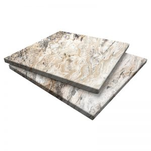 Da Vinci Travertine Pavers 24x24