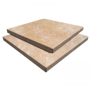 Ivory Blend Travertine Paver 16x16